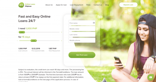 Online Loans Pilipinas - Loans up to ₱20 000