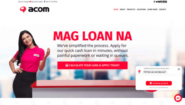 Acom - Loans up to ₱500 000