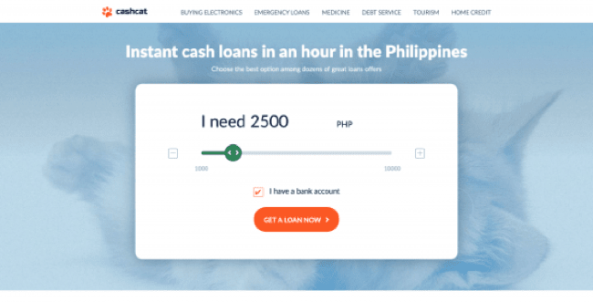 Cashcat - Loans up to ₱10 000