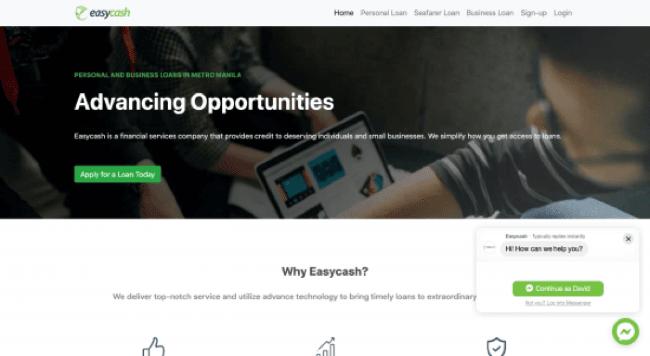 Easycash Lending Company, Inc.