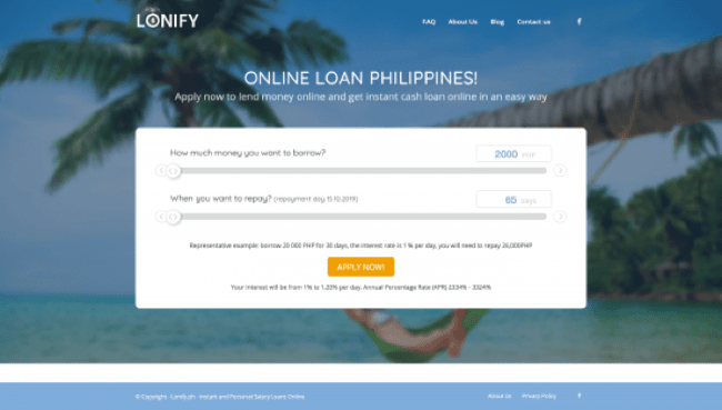 Lonify - Loans up to ₱20 000