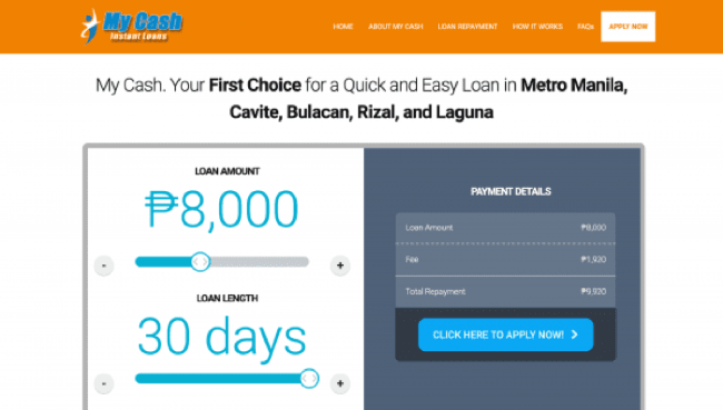My Cash - Loans up to ₱25 000